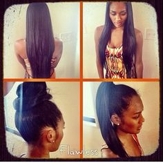 Oh my! Straight natural hair. To learn how to grow your hair longer click here - http://blackhair.cc/1jSY2ux
