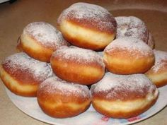 So it will be perfect for the donuts! Whether your grandmother would have done… Easy Cookie Recipes, Gourmet Recipes, Cooking Recipes, Hungarian Recipes, Sweet Bread, Bread Baking, Donuts, Sweet Tooth, Food And Drink