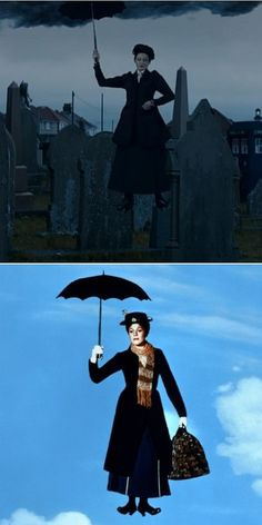 Mary Poppins is a Time Lady - Doctor Who.S08E12 - ''Death in Heaven''  (Doctor Who - BBC Series) source:http://geek.cheezburger.com/doctorwho