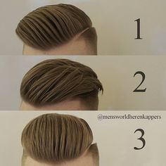 """1,485 Likes, 77 Comments - Men's World Herenkappers⚪ (@mensworldherenkappers) on Instagram: """"What do you like? 1, 2 or 3?! Please comment below """""""