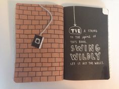 wreck this journal Abstract Pencil Drawings, Mini Drawings, Bullet Journal Notebook, Book Journal, Journals, Wreak This Journal Pages, Wreck This Journal Everywhere, Mental Health Art, Collages