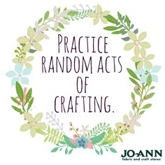#MondayMantra? More like, daily mantra! // Cute Craft Quote!
