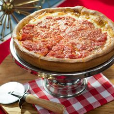True Chicago-Style Deep-Dish Pizza by Jeff Mauro Deep Dish Pizza Dough Recipe, Chicago Pizza Crust Recipe, Pizza Recipes, Cooking Recipes, Chicago Style Pizza, Jeff Mauro, Food Network Recipes, Sausage Dip, Flat Bread