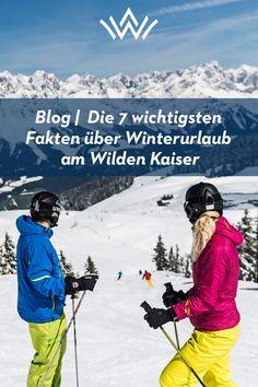 Hättest Du es schon gewusst? Die ersten Schneeflocken sind bereits gefallen, die Region Wilder Kaiser präsentiert sich im weißen Winterkleid. Wenn das nicht die Vorfreude auf den bevorstehenden Winter, und vor allem aufs Skifahren steigert, was dann? Bevor es nun richtig los geht, gibt´s hier noch sieben Dinge über Euren Skiurlaub in der SkiWelt Wilder Kaiser-Brixental, die Ihr unbedingt wissen solltet. Wilder Kaiser, Mount Everest, Mountains, Nature, Travel, Knowledge, Best Ski Resorts, Ride Along, Exotic Animals