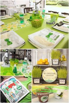 Mad Science Birthday Party Decorations
