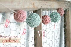 bakers twine garland
