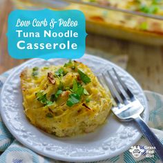 I made this Paleo diet friendly tuna casserole because I used to love this dish growing up. I could eat the whole pan but be hungry in an hour due to the blood sugar response from all those wheat noodles. My stepmom made the casserole with canned mushroom soup but I now know that that...ReadMore