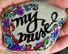 sweet friend / painted rocks / painted stones / by LoveFromCapeCod