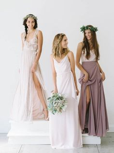 Gorgeous looks for bridesmaids. | Joanna August