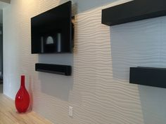 #FunTileFriday highlights an awesome installation of our Surface Ripple Wall…