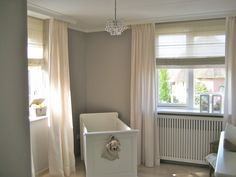 babykamer naturel, beige, taupe Baby Room, Sweet Home, New Homes, Bathtub, Home Appliances, Nursery, Curtains, House, Lei