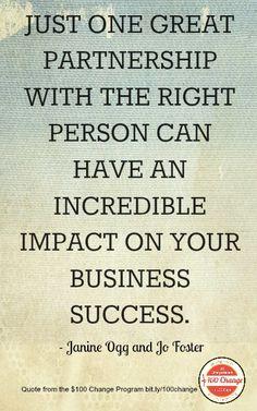 Business Partnership Quotes Inspirational. QuotesGram ...