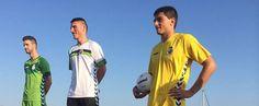 Racing Santander 2015-16 Hummel Home & Away Kits