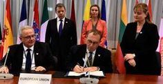 Santos firmó con la UE fondo de apoyo al posconflicto en Colombia