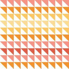 Keepsake Calico Cotton Fabric- Sorbet Collection Triangle