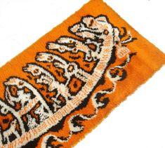 Carpet Runner Next Day Delivery Referral: 2888550090 Beige Carpet, Modern Carpet, Wall Carpet, Rugs On Carpet, Wool Wall Hanging, Colani, Mid Century Chandelier, Mid Century Rug, Vintage Pop Art