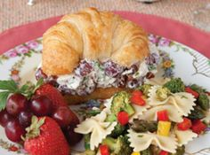 Southern Lady Chicken Salad Recipe   Just A Pinch Recipes. Take out the pecans and onions!
