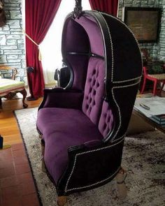 Perfect Haunted Mansion Doombuggy Sofa - MUST DO!!!