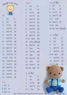 Diy Crafts - Mesmerizing Crochet an Amigurumi Rabbit Ideas. Lovely Crochet an Amigurumi Rabbit Ideas. Crochet Bunny Pattern, Crochet Amigurumi Free Patterns, Crochet Teddy, Cute Crochet, Crochet Dolls, Crochet Rabbit, Amigurumi Tutorial, Amigurumi Doll, Teddy Bears