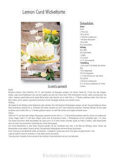 Geburtstagstorte: Lemon Curd Wickeltorte - Birthday Cake: Lemon Curd Snail Cake | Das Knusperstübchen