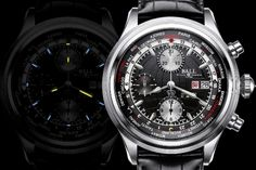 BALL WATCH trainmaster worldtime chronograph