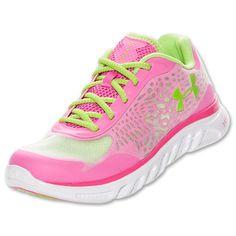 Women's Under Armour Spine Lazer Running Shoes..