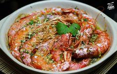 Gambones al horno | Receta fácil | Receta de Sergio Best Spanish Food, Spanish Desserts, Tapas Recipes, Prawn, Fish And Seafood, Japchae, Pasta, Meat, Chicken