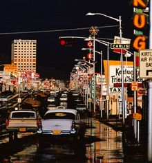 Route 66, Albuquerque, New Mexico, 1969 by Ernst Haas