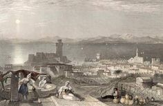 RHODES TOURNER 1835 Greece Rhodes, Rhode Island, The Past, Europe, World, Lost, Painting, Painting Art, Paintings