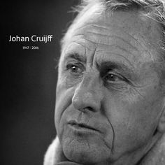 R.I.P. Johan Cruijff  ⚽
