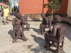 plaza del carmen in camaguey CUBA  I been here before dred !!