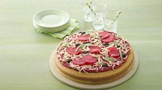 Use your imagination to add other favorite toppings to this sweet pizza.