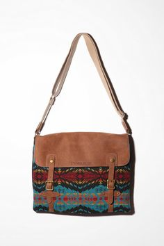 Messenger Bag - I love Native American style prints. This would be great to take to an outdoor concert/festival.