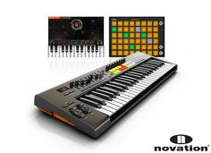NEW: The Novation Launchkey 49 is a powerful, innovative keyboard controller that belongs to the series of 25, 49 and 61 note keyboard Controllers with up to 50 physical controls. These controls include 16 velocity-sensitive multi-colour launch pads that trigger and stop clips - and launch scenes - in Ableton Live. The keyboard Controller is an integrated software/hardware instrument as it enables you hands-on control of your DAW's mixer, instruments and more. Available on Recordcase.de