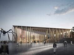 Stage One Gallery — Guggenheim Helsinki Design Competition Architecture Visualization, Urban Architecture, Penny Market, Bohol, Design Competitions, Facade Design, Helsinki, Merida, Exhibitions