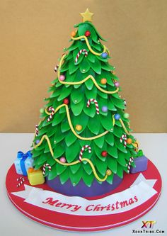 christmas cakes | Latest Christmas Cakes Designs 2012 | Modern Art, Design Ideas