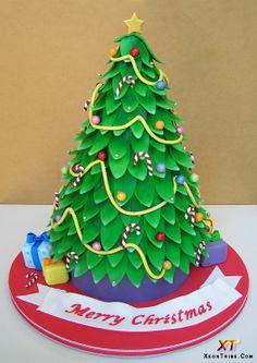 christmas cakes designs | Latest Christmas Cakes Designs 2012 | Modern Art, Design Ideas