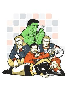 Avengers Breakfast Club. That makes Hulk the criminal, Captain America the athlete, Thor the basket case, and Black Widow the princess. I think I would switch hulk and iron man. Because Iron man is more of the badass trouble maker sort and bruce banner is also a brain sciency/mathy guy.