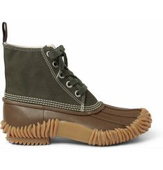 Junya Watanabe Duck Boots.  I want to incorporate something similar to this in the fall