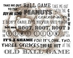 Free Baseball Subway Art Printable from The Country Inspired