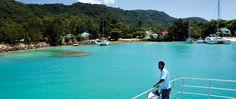 SEYCHELLES EL REINO DEL AZUL Y EL VERDE Ferry que opera entre las islas