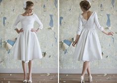 16 Non-Traditional Wedding Dresses for the Modern Bride via Brit + Co