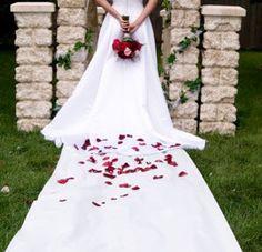 Les coureurs d'allée de mariage 100 'Blanc 15,99 $ (intérieur-extérieur)