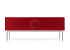 Geneva Sound System Model XXL / Home Theater Console in Red