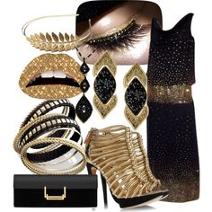 Gold Gladiator by kristy-depompeis on Polyvore