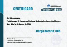 Template de certificado para 1º CONABI.