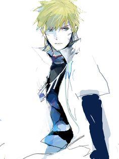 Naruto, looks good as Hokage :)