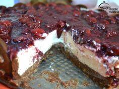 Cheesecake cu blat de biscuiti - fara coacere - imagine 1 mare