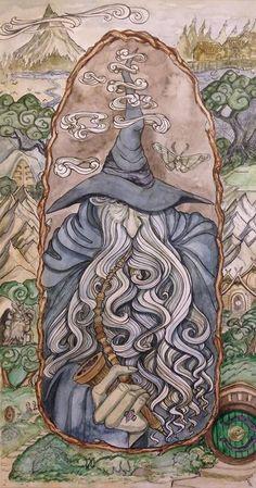 The gray wanderer