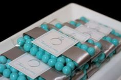 Tiffany Blue Bridal Shower Favors